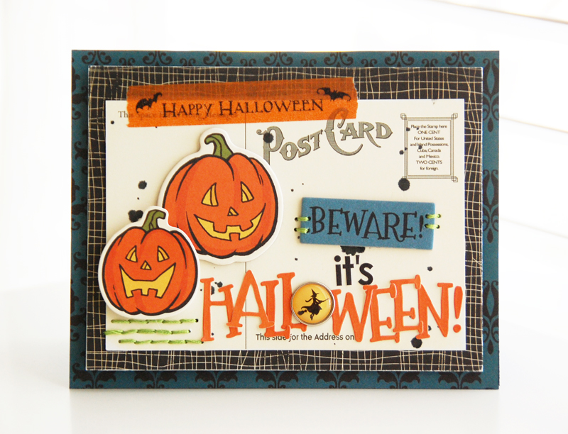 Roree-OA Oct12-Oct 4 Sketch-Beware! It's Halloween! 2