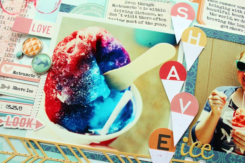 Shave ice detail