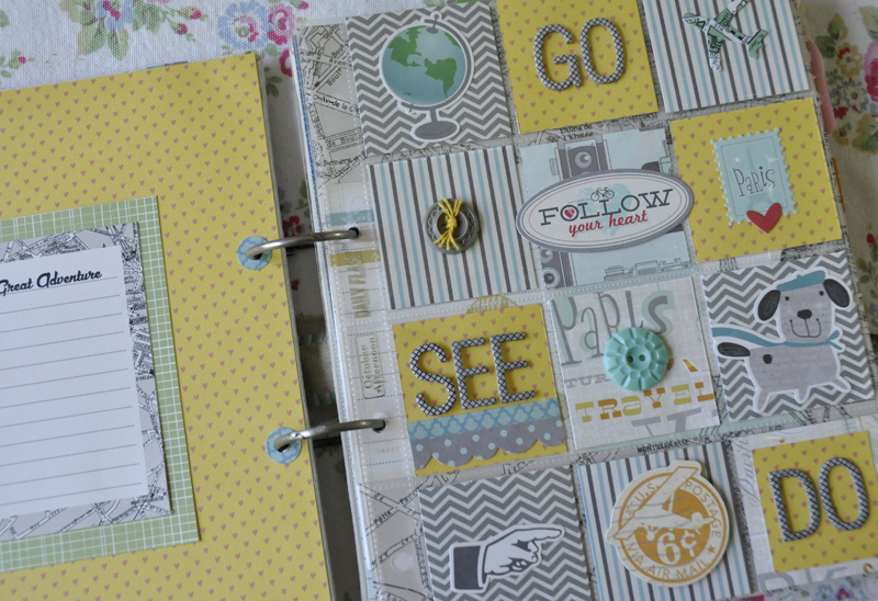 DS My Great Adventure album page