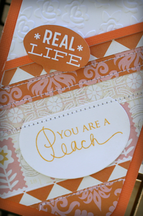 You're a peach details danni reid