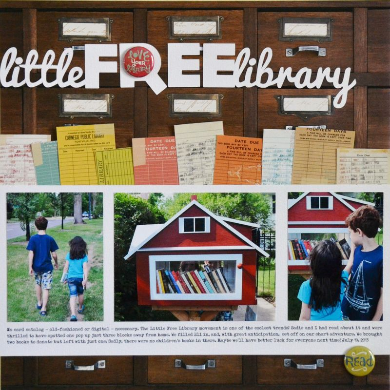 Vivian Masket - Little Free Library Layout