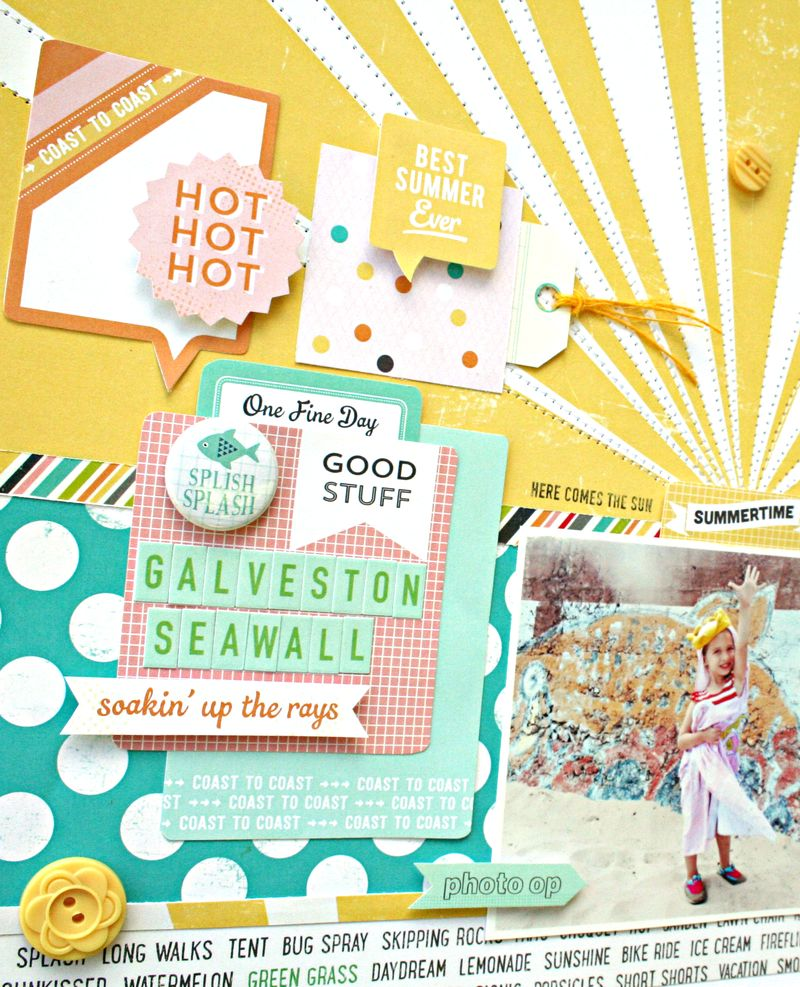 A Day in the Sun cards by Heather Leopard October Afternoon