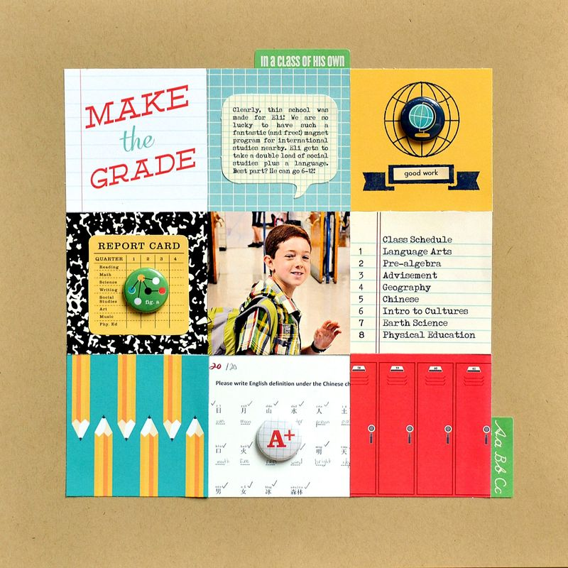 Make the Grade - Vivian Masket - Monday Challenge