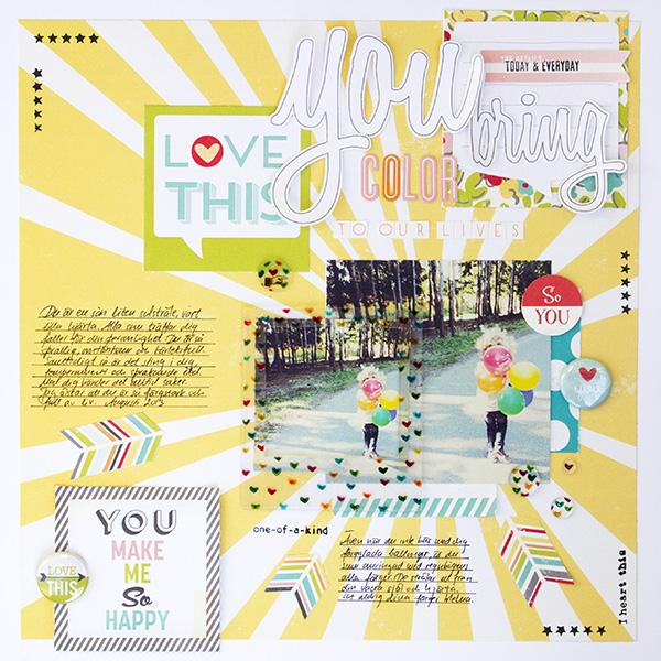 Alex Gadji - You bring color to our lives