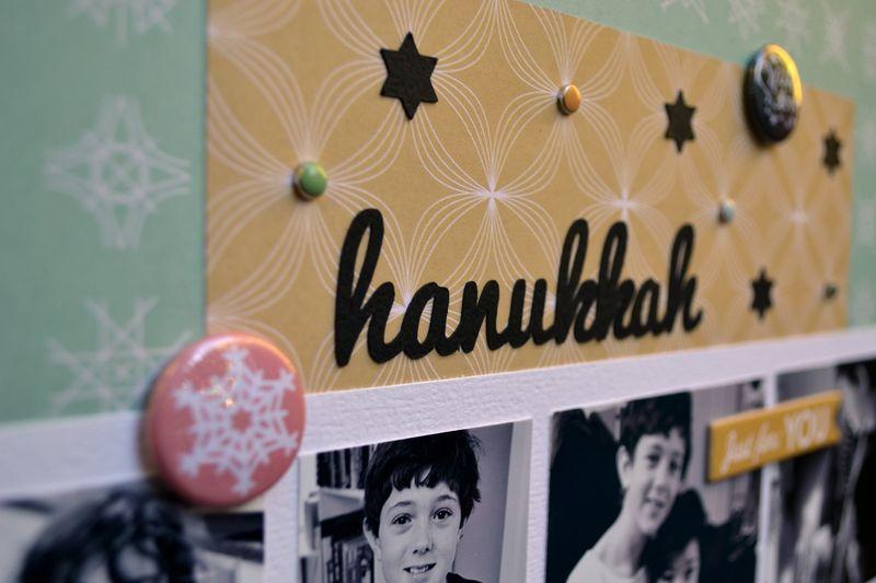 Hanukkah Detail - Vivian Masket