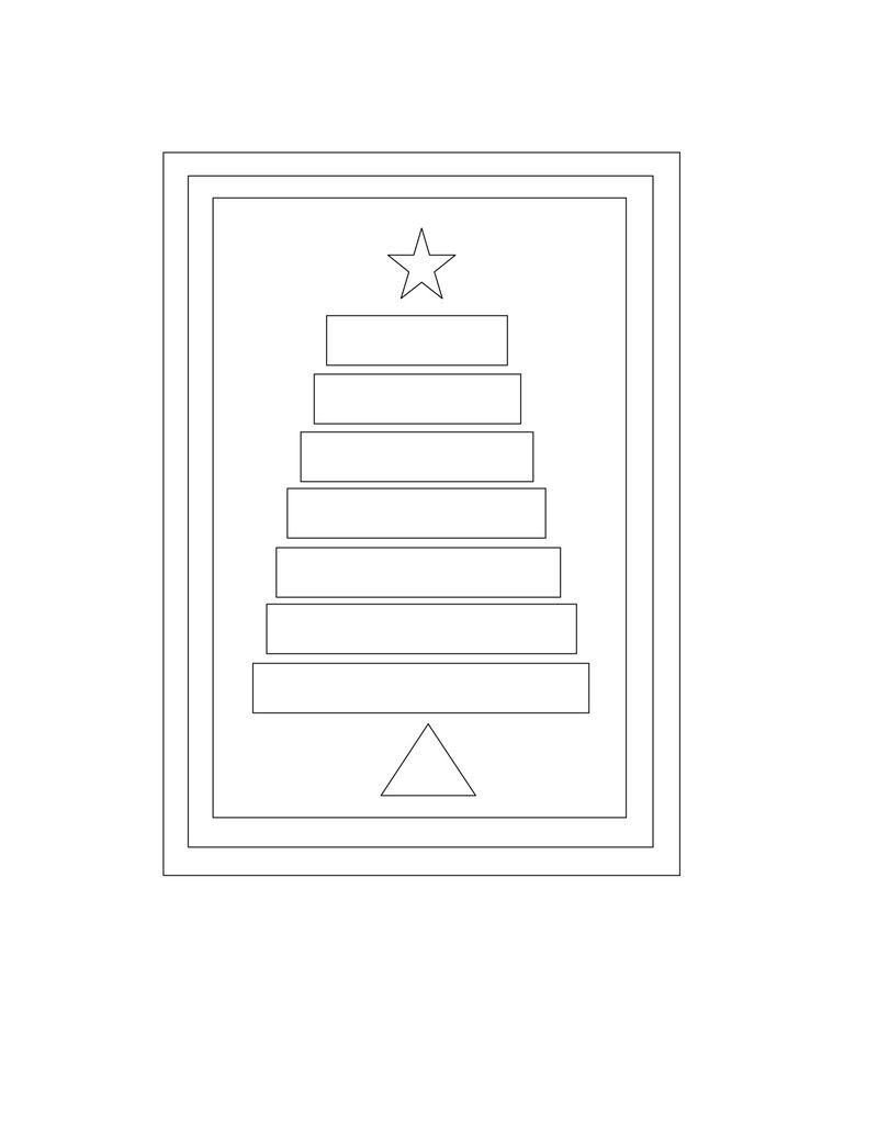 Sketch #1 - Tree Card