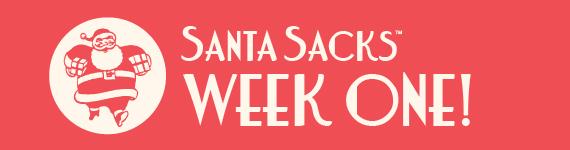 Santa Sacks 2013 - Blog Banner - Week 1