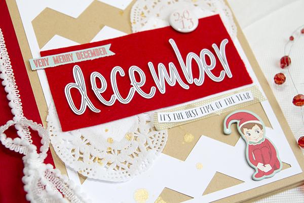 Alex Gadji - Very Merry December cover closeup