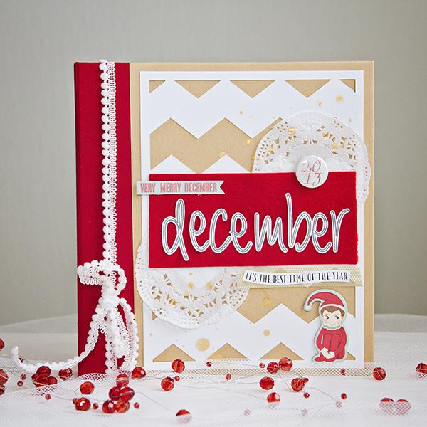 Alex Gadji - Very Merry December cover