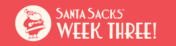 Santa Sacks 2013 - Blog Banner - Week 3