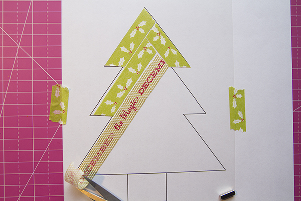 Alex Gadji - Washi Christmas Tree 4