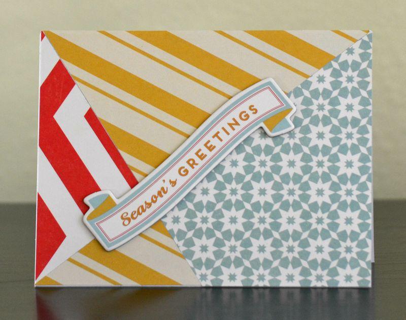 Diagonal Lines Card 2 Vivian Masket
