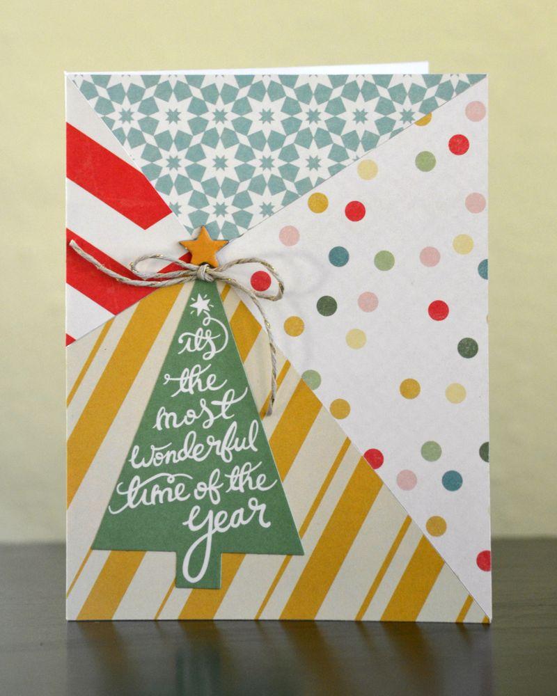 Diagonal Lines Card 4 Vivian Masket