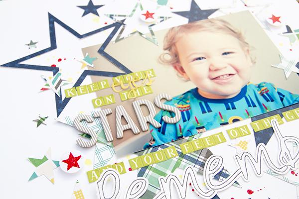 Alex Gadji - Keep your eyes on the stars closeup2