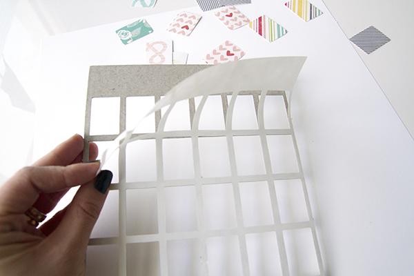 Alex Gadji - Chipboard Grid 5