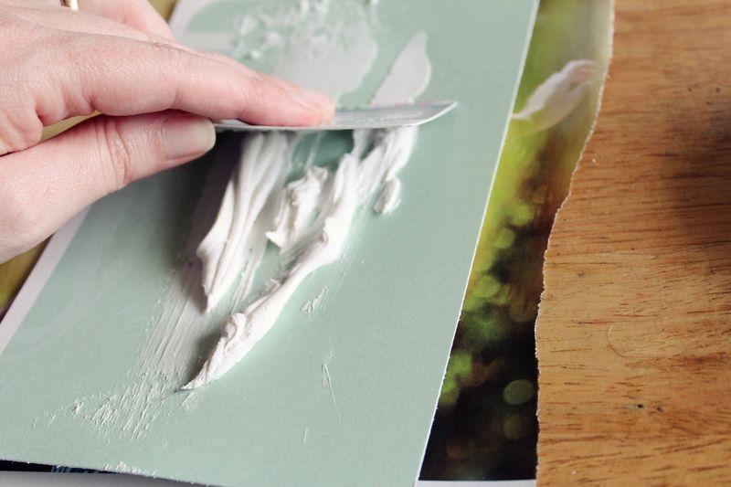 2 modeling paste