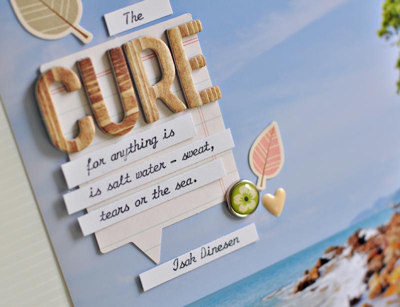 The cure closeup