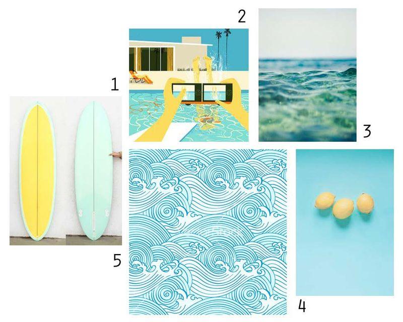Oceanic hues