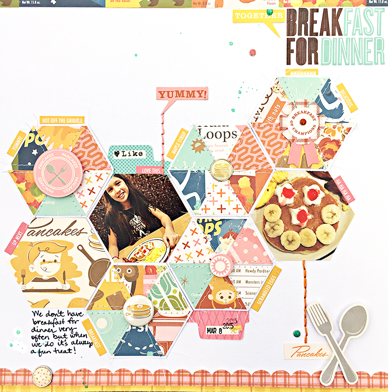 Breakfast for Dinner by Heather Leopard OA