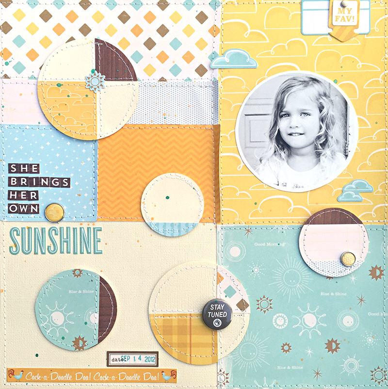 She Brings Sunshine by Heather Leopard OA