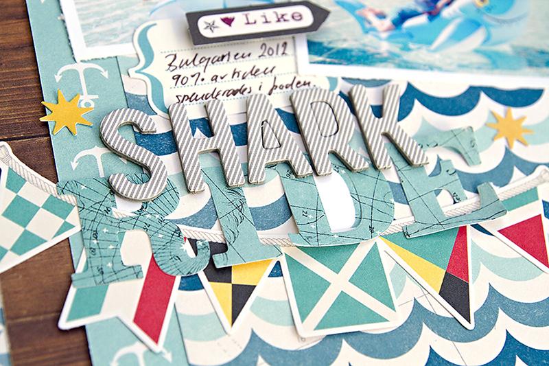Alex Gadji - Shark Ride closeup1