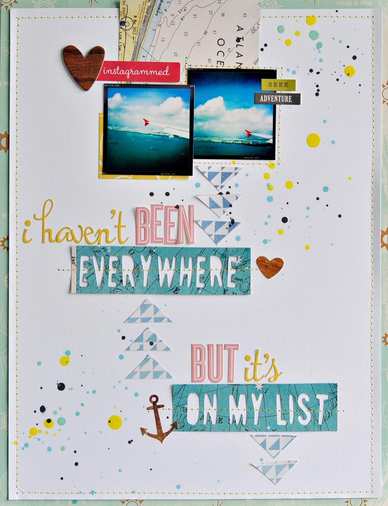 Everywhere on my list
