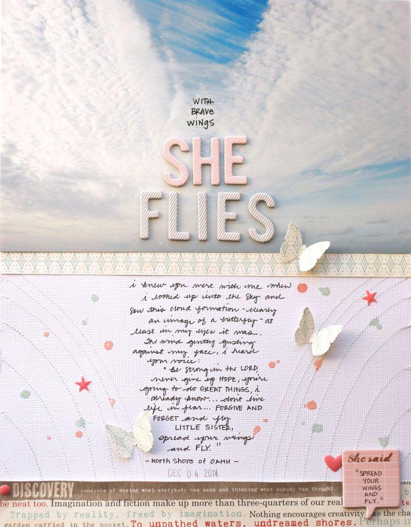 Shefliesfull