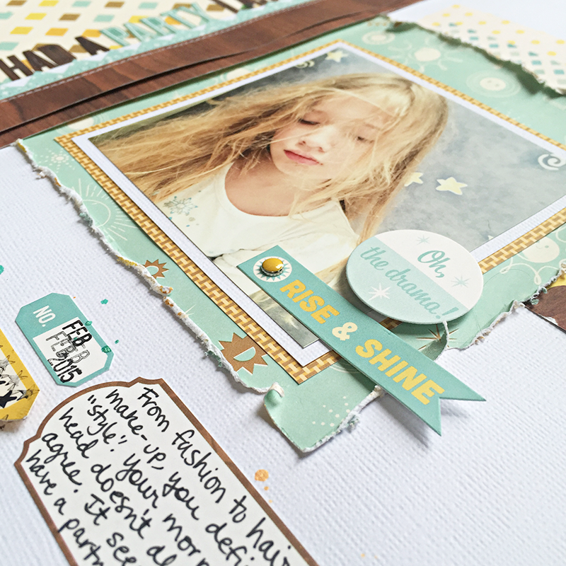 Hair Party Journaling by Heather Leopard OA