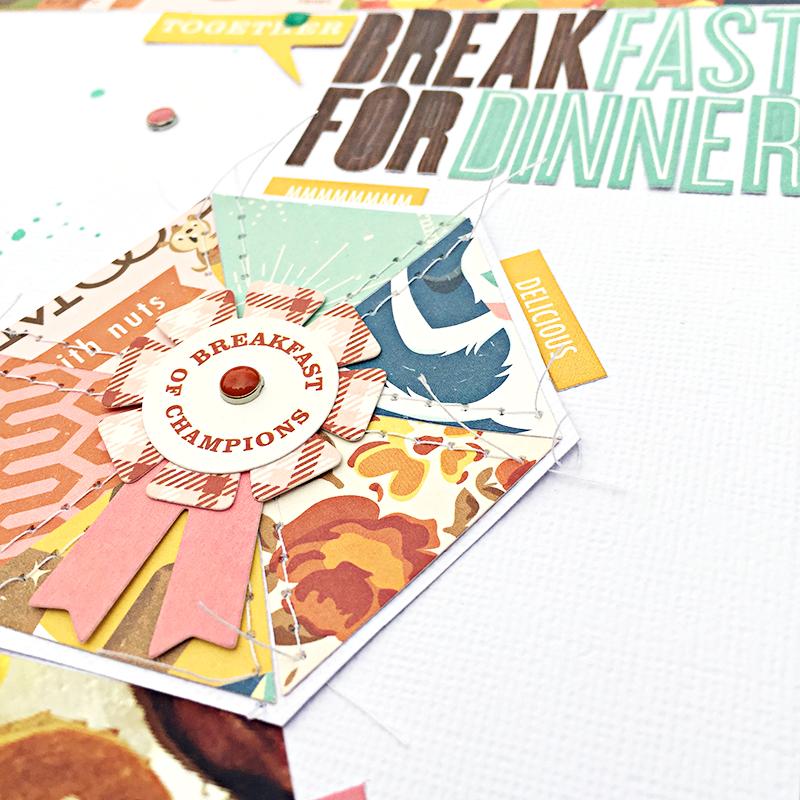 Breakfast for Dinner Title by Heather Leopard OA