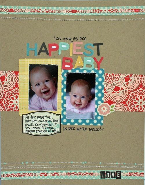 Happiest Baby by Jill Hornby